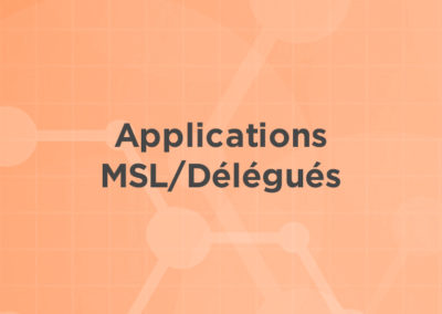 Applications MSL/Délégués